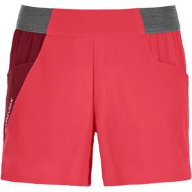 Ortovox Piz Selva Light Shorts Dame hot coral